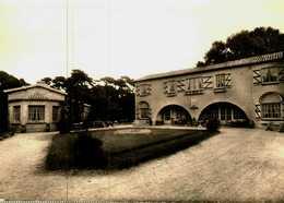 """CPSM Photo  (85)   ILE DE NOIRMOUTIER  -  Pension """"Notre-Dame Du Bois""""   Bois De La Chaize - Ile De Noirmoutier"""