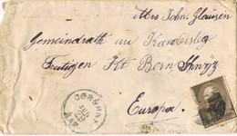 28754. Carta ORBORNE (Kansas) 1885. Fancy Cancel - 1847-99 Emisiones Generales