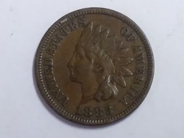 1883 Indian Head Cent - Federal Issues