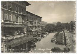 X2438 Montecatini Terme (Pistoia) - Grande Albergo Pace - Auto Cars Voitures / Viaggiata 1954 - Italia