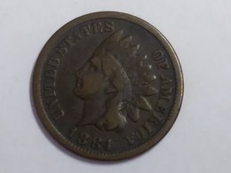 1884 Indian Head Cent - Federal Issues