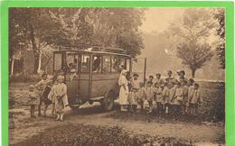 """33 BORDEAUX - Autobus Des """" Lapins De Garenne"""" Oeuvre De Plein Air Rue Mouneyra - Belle Animation - Bordeaux"""