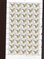 Belgie 2424 Buzin Birds 0.50fr 5/9/1991 In Volledig Vel Plaatnummer 2 Numero De Planche Mnh - 1985-.. Vögel (Buzin)