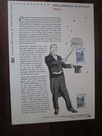 Premier Jour -collection Historique Du Timbre-poste Français - Salon Philatélique De Printemps Mâcon (2013) - Documents Of Postal Services