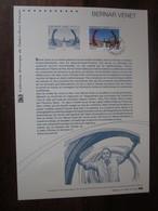 Premier Jour -collection Historique Du Timbre-poste Français - Bernar Venet (2013) - Documents De La Poste