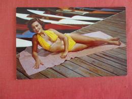 Pin-Ups  Yellow Bathing Suit   Ref 2966 - Pin-Ups