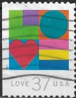 USA 2002 'Love' - 37c Multicoloured FU - United States