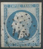 Lot N°42840  N°14A, Oblit PC 1152 Dunkerque, Nord (57), Bonnes Marges - 1853-1860 Napoléon III