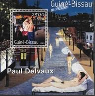 GUINEA - BISSAU 2001 Paul Delvaux - Sonstige
