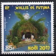 Wallis Et Futuna 2017 - Crèche, Noël 2017 - 1 Val Neuf // Mnh - Wallis-Et-Futuna