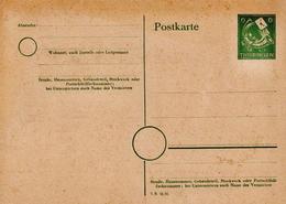 Germany Mint Postal Stationery Card ( Ganzsache) - Soviet Zone