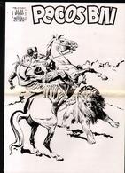 Albi D'oro, PECOS BILL, Pages Non Reliées, Peut-être Bon à Tirer, Voir Description - Classiques 1930/50