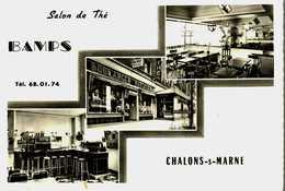 CPSM  Photo (51)  CHALONS-sur-MARNE   -  Boulangerie Salon De Thé  BAMPS - Châlons-sur-Marne