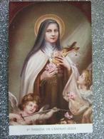SAINTE THERESE DE L ' ENFANT JESUS / JOLIE CARTE - Saints
