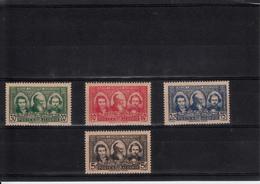 ALGERIE  1939  LES PIONNIERS DU SAHARA  N°149 A 152 NEUFS XX - Algeria (1924-1962)