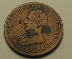 1812 - Canada - ½ PENNY, Commémorative, Victoire De Wellington S/ Napoléon à Salamanque - Canada