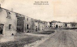 Hudiviller 57 Hôpital Auxiliaire N° 10 De Nantes Guerre 1914/1918 Carte Ecrite - Andere Gemeenten