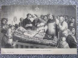LE BIENHEUREUX CURE D'ARS  SUR SON LIT DE MORT /1913 - Saints