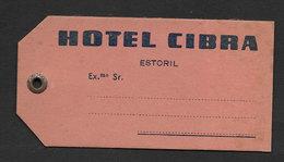 Portugal Etiquette Valise Hotel Cibra Estoril Luggage Tag - Hotel Labels