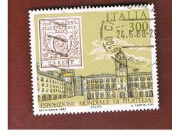 ITALIA REPUBBLICA  - SASS. 1740   -      1985  ITALIA 85, ANTICHI STATI ITALIANI: PARMA       -      USATO - 6. 1946-.. República