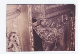 PHOTO 1968 KODAK   --   -st Jacques De Compostelle-- DOS DE LA STATUE DE ST JACQUE    -B11 - Lieux