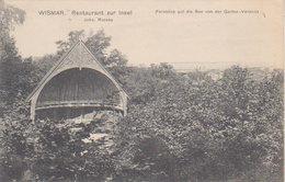 """1908   Wismar  """"  Restaurant Zur Isel   """" ( Johs. Rassau ) - Wismar"""