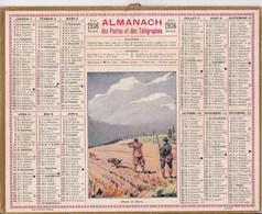 Almanach Des Postes Et Telegraphes 1936 Chasseur De Lievre - Big : 1921-40