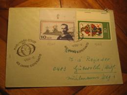 ESPERANTO Karl Marx Stdt 1967 Cancel Cover DDR GERMANY - Esperanto