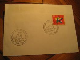 ESPERANTO Nurnberg 1971 Durer Cancel Cover GERMANY - Esperanto