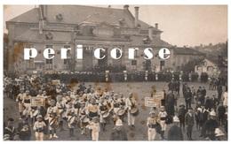 54  Baccarat  Salle Des Fêtes Jour De Presentation Des Fanfares (carte Photo) Rare - Baccarat
