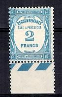 France Timbres Taxe YT N° 61 Neuf ** MNH. TB. A Saisir! - 1859-1955 Neufs