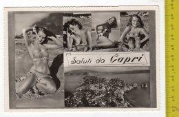 Saluti Da Capri Belle Ragazze In Bikini FG NV  SEE 2 SCANS Animata - Italia