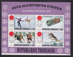 TOGO BLOC N°   56 ** MNH Neuf Sans Charnière, TB (CLR341) Sports, Jeux Olympiques De Sapporo - Togo (1960-...)