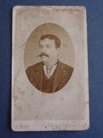 46- Photo-carte Portrait D'homme /photographe J.Marty à Prayssac (Lot) - Anonieme Personen