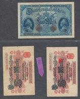 German Banknotes  Deutsches Reich 5 Mark & 2 Mark 1914 X 2 - [ 2] 1871-1918 : Duitse Rijk