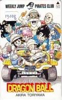 MANGA Télécarte Japon * Cinéma * DRAGON BALL * PIRATES CLUB * Animé (13.008) TK * MOVIE * PHONECARD JAPAN - Cinema