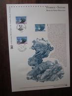 Premier Jour -collection Historique Du Timbre-poste Français - France Suisse Union Postale Universelle (2009) - Documents De La Poste