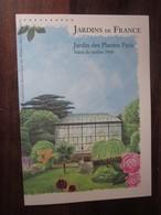 Premier Jour -collection Historique Du Timbre-poste Français - Jardins De France Jardin Des Plantes Paris  (2009) - Documents De La Poste