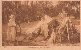 Afrique Du Nord   166          Campement De Nomades - Cartes Postales