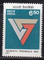 India MH 1991, Triennale Art Exhibition - India