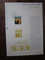 Premier Jour -collection Historique Du Timbre-poste Français - Christo Et Jeanne-claude   Le Pont Neuf Empaqueté (2009) - Documents De La Poste