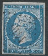 Lot N°42866  N°14B, Oblit PC 1418 Gourdon, Lot (44), Ind 4, Belles Marges - 1853-1860 Napoléon III
