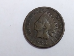 1888 Indian Head Cent - Federal Issues