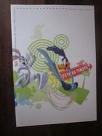 Premier Jour -collection Historique Du Timbre-poste Français - Looney Tunes - Fête Du Timbre  (2009) - Documents De La Poste