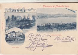 Wädenswil Hôte Engel Uberseertag 30 September 1900 - ZH Zurich