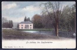 ST GENESIUS RODE - RHODE ST GENESE - Kasteel Septfontaines - Château Des Septfontaines - 1900 ! Précurseur Rare ! - Rhode-St-Genèse - St-Genesius-Rode