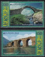 Europa CEPT 2018 ARMENIA/ARTSAKH Bridges - Fine Set MNH - 2018