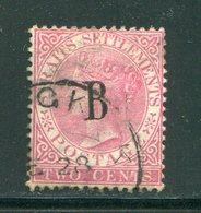 MALAISIE- Poste De BANGKOK- Y&T N°13- Oblitéré (belle Cote!!!) - Gran Bretaña (antiguas Colonias Y Protectorados)