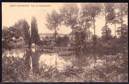 ST GENESIUS RODE - RHODE ST GENESE -  Sept Fontaines - Vue Du Restaurant - Rhode-St-Genèse - St-Genesius-Rode