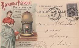 Paris - J.Ristelhueber - Réchaud à Pétrole - Advertising